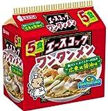 エースコック ワンタンメン 広東風醤油味 5食入り