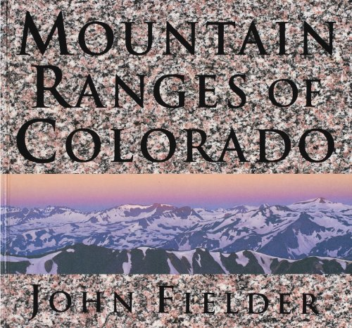 Download Mountain Ranges of Colorado 0986000477