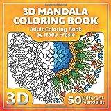 3D Mandala Coloring Book: Adult Coloring Book
