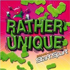 RATHER UNIQUE「Start Spurt」のCDジャケット