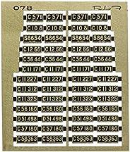 レボリューションファクトリー Nゲージ 蒸機ナンバーセット1 改良   RLF078