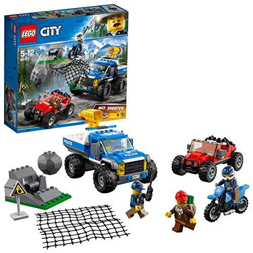 レゴ(LEGO) シティ 山のポリスカーとポリスバイク 60172