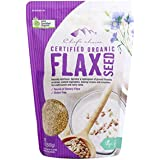 Chef's Choice Organic Golden Flaxseed, 500 g, Flaxseed