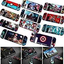 HMSH Colorful Hard Protective Housing Shell hard Case Cover For Nintend Switch Game Console Protector Splatoon 2/ Sword Art Online (Color : 11)