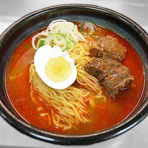 特選松阪牛専門店やまと 牛骨ラーメン 大辛 (4食セット) 特製カルビスープ 柔らかく煮込まれた牛肉 入り