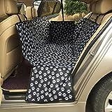 JTENG ペット用ドライブシート 新型 カーシートカバー 車用ペットシート 後部座席用 高品質 防水 滑り止め 折り畳み式 ジッパー付 汚れに強い 清潔簡単 大中小型犬用 ペットおでかけ用品