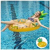 フローティングパイナップルホイール巨大なフローティングインフレータブル玩具、大人インフレータブルビーチフローティング行子供水のおもちゃ夏のパーティー120センチ