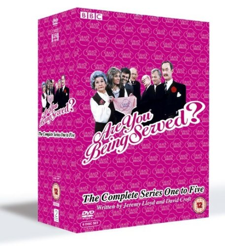 Are You Being Served? - Series 1-5 [Import anglais]