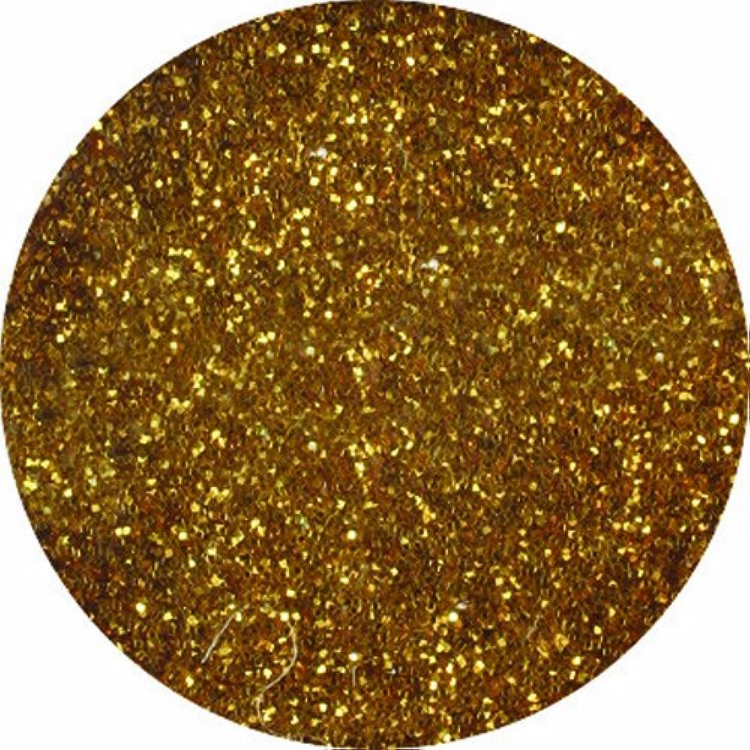 イソギンチャクスキャン表示ビューティーネイラー ネイル用パウダー 黒崎えり子ジュエリーコレクション ダークゴールド0.05mm