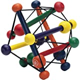 Manhattan Toy 200980 Skwish Classic Rattle and Teether Grasping Activity Toy