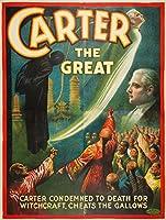 カーターThe GreatヴィンテージポスターUSA C。1925 24 x 36 Giclee Print LANT-61028-24x36