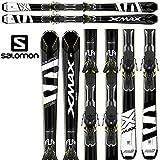 16-17 SALOMON サロモン 2017 X-MAX X12 + XT12Ti 〔SKI 基礎スキー 金具付き〕 (onecolor):L39154500
