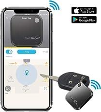 GLCON キーファインダー 忘れ物防止 タグ 鍵・スマートフォン・財布などの紛失防止タグ Bluetooth4.0搭載するiPhone Androidのスマホに対応(一個)