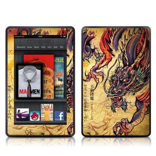 DecalGirl スキンシール Kindle Fire専用スキン - Dragon Legend