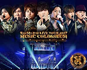 LIVE TOUR 2017 MUSIC COLOSSEUM(Blu-ray Disc2枚組)