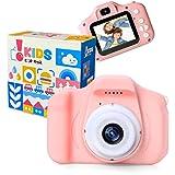 [Amazon限定ブランド] ピントキッズ トイカメラ キッズカメラ 安全ストラップ付 ピンク