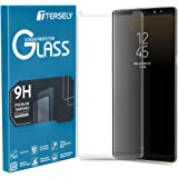 Tersely Screen Protector for Galaxy S9 Plus, Full Cover 4D Tempered Glass Screen Protector for Samsung Galaxy S9 Plus, Film G