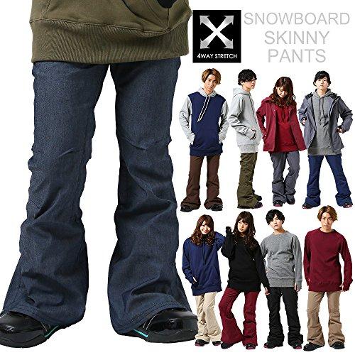 [해외]스노우 보드 팬츠 4WAY 스트레치 9 컬러 4 사이즈 스키니 팬츠 슬림 팬츠 남성 여성 스트레이트 팬츠 발수 방수 슬림 타입 스노 보드 스노우웨어/Snowboard Pants 4 Way Stretch 9 Color 4 Size Skinny Pants Slim Pants Men`s Women`s Straight Pan...