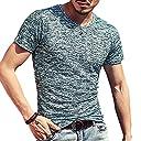 (メイク トゥ ビー) Make 2 Be メンズ ワイルド Tシャツ ミリタリー ストレッチ 薄手 KB66(23.DarkGreen_2XL)