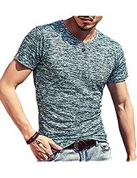 (メイク トゥ ビー) Make 2 Be メンズ ワイルド Tシャツ ミリタリー ストレッチ 薄手 KB66