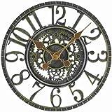 Smart Garden Newby Mechanical Style Outdoor Rustic Garden Clock