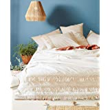 Fringed Lace Duvet Cover Bedding Quilt Cover With 2 Pillowcase Hippie Bohemian Boho Bedding Dorm Decor Duvet Doona Cover Beds