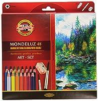 【KOH-I-NOOR】 コヒノール Mondeluz 水彩色鉛筆 ART-SET 3712 36