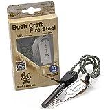 BushCraftInc. ブッシュクラフト メタルマッチ(ブッシュクラフト・ファイヤースチール)【火おこし 火起こし 着火剤 着火材 焚き火 キャンプ用品 アウトドア】