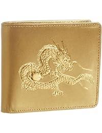 [ティサンド] 二つ折り財布 日本製皇帝龍22金箔使用 64269