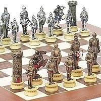 Medieval Chessmen & Stuyvesant Streetチェスボードfrom Spain