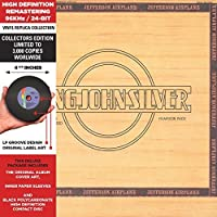 Long John Silver - Cardboard Sleeve - High-Definition CD Deluxe Vinyl Replica by Jefferson Airplane