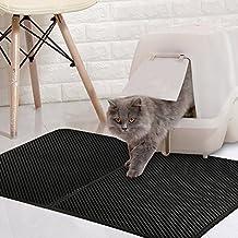 HALOViE Cat Litter Box Mat Rash Trapping Litter Catcher Trap Mat Stink Free Waterproof Layer
