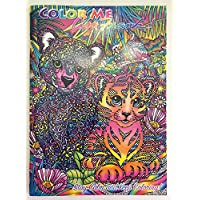 カラーMe Lisa Frank Tiger Cubs Coloring Book