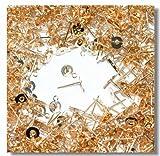 カン付き丸皿ピアス 6mm ゴールド 真鍮製 50個入り