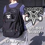 THRASHER(スラッシャー) リュック THC-501 BK SKT THRASHER スケボー バッグ スケボー バックパック