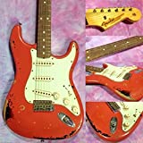Fender USA Custom Shop Michael Landau Signature 1963 Stratocaster Relic (Fiesta Red over 3 Color Sunburst)