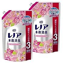 【まとめ買い】 レノア 本格消臭 柔軟剤 フルーティーソープ 詰め替え 超特大 1400ml×2個