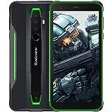 Blackview BV6300 Pro SIMフリー スマホ本体 Android 10 タフネススマートフォン 6GB RAM +128GB ROM Helio P70 オクタコア 11.6mm薄型ボディ 防水スマホ 防塵 耐衝撃4380mAhバッ