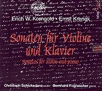 Sonatas for Violin & Piano (Sonaten fur Violine und Klavier)