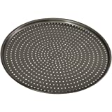 Bakemaster Pizza Crisper Tray Non-Stick Perfect Crust, Grey, 40110