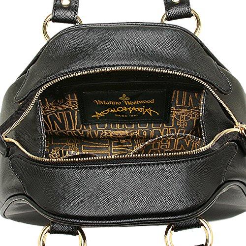 (ヴィヴィアンウエストウッド) Vivienne Westwood バッグ 7063 DIVINA ハンドバッグ BLACK [並行輸入品]