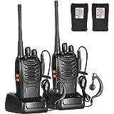 トランシーバー 無線機 超長距離タイプ 簡単操作 災害·地震 緊急対応 mini携帯型 総務省技術基準適合商品 2pcs