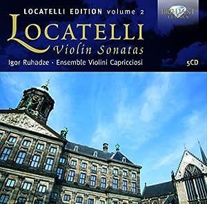 ロカテッリ:ヴァイオリンソナタ集