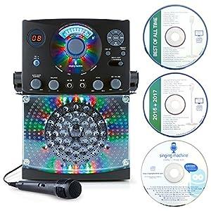 Singing Machine Bluetooth 対応 カラオケマシーン ブラック SML385BTBK