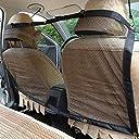 Biliboo 犬や猫などのペット向けのセーフティネット ペットを連れてドライブ時のセーフティネット ペットの保護ネット トラック 大型SUV フルサイズのセダンの内部に適してペットを車両の後部で拘束する 運転席と助手席の後に掛け