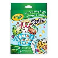 Crayolaミニカラーリングページ、Shopkins