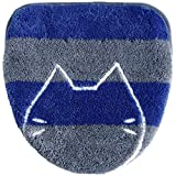 オカ ネット限定 うちねこ 洗浄暖房専用 フタカバー ブルー