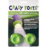 Crazy Forts! Fort Lights, Green, 9'' W x 6'' H x 2'' D