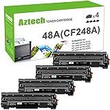 Aztech Compatible Toner Cartridge Replacement for HP 48A CF248A Toner Cartridge HP Laserjet Pro M15w MFP M29w M28w Toner M15a