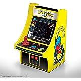 MyArcade 6.75インチ レトロ パックマン ミニゲーム イエロー & ブラック DGUNL-3220